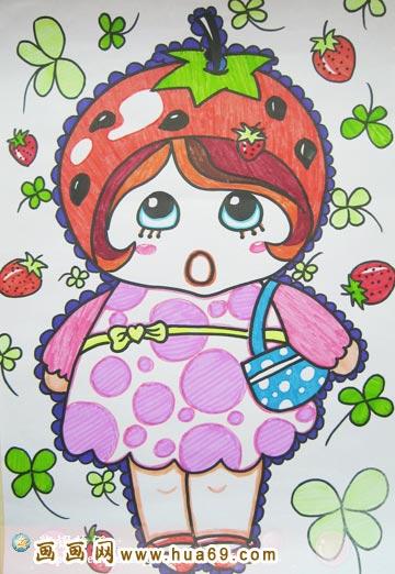 儿童画 彩笔画 >> 正文    上一个图片: 可爱的小男孩_儿童彩笔画作品
